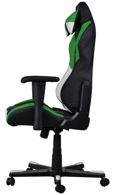 Геймърски стол DXRacer Drifting - черен/зелен/бял OH/DF61/NWE - 8