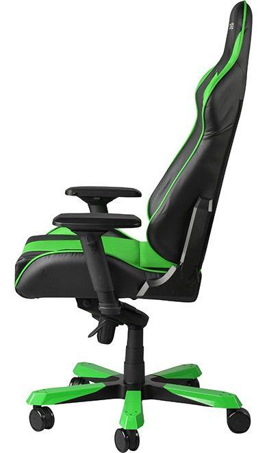 Геймърски стол DXRacer King - черен/зелен (OH/KF06/NE) - 7