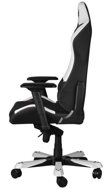 Геймърски стол DXRacer Iron - черен/бял (OH/IF11/NW) - 7