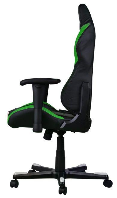 Геймърски стол DXRacer Drifting - черен/зелен/бял OH/DF61/NWE - 3