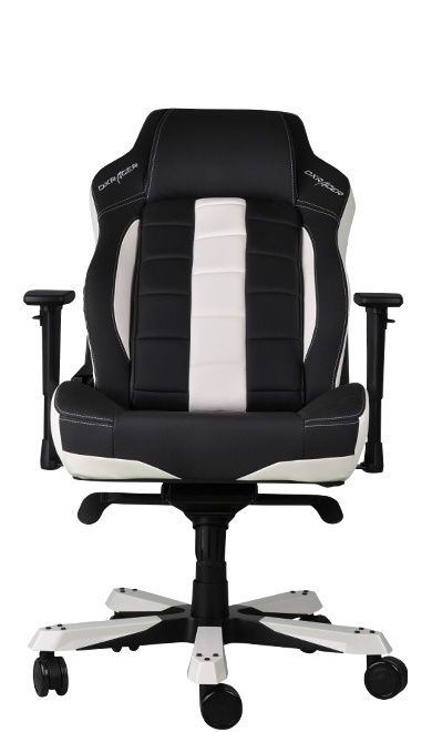 DXRacer CLASSIC Gaming Chair - черен/бял (OH/CBJ120/NW) - 5