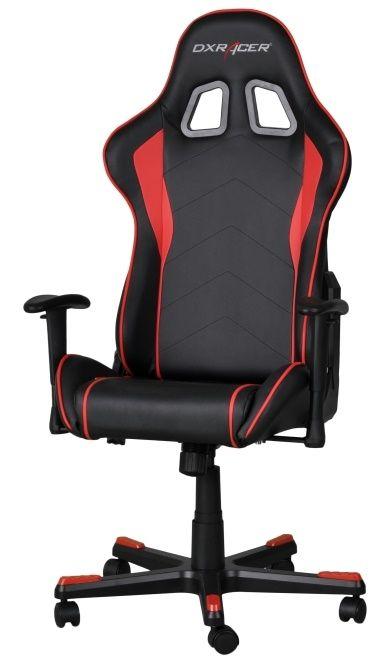 Геймърски стол DXRacer Formula - черен/ червен (OH/FE08/NR) - 6