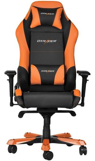 Геймърски стол DXRacer Iron - черен/оранжев (OH/IF11/NO) - 6