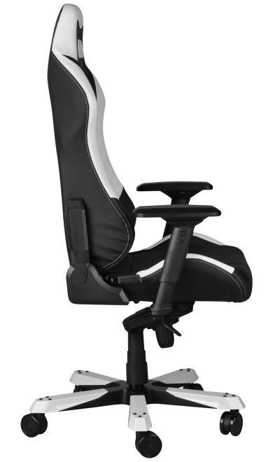 Геймърски стол DXRacer Iron - черен/бял (OH/IF11/NW) - 10