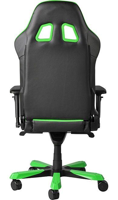 Геймърски стол DXRacer King - черен/зелен (OH/KF06/NE) - 8
