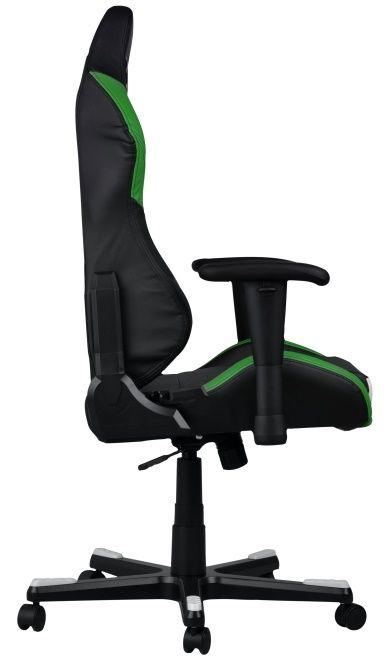 Геймърски стол DXRacer Drifting - черен/зелен/бял OH/DF61/NWE - 6