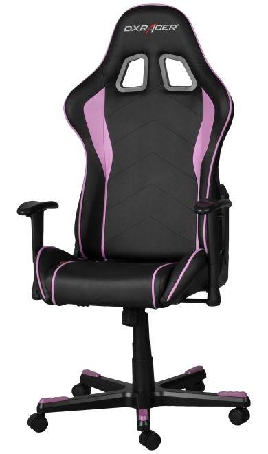 Геймърски стол DXRacer Formula - черен/розов (OH/FE08/NP) - 6