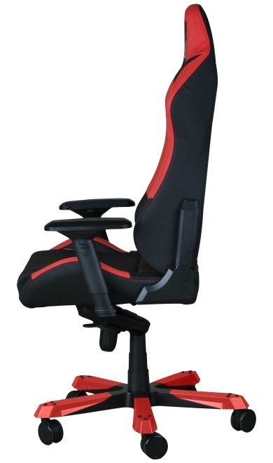 Геймърски стол DXRacer Iron - черен/червен (OH/IF11/NR) - 5