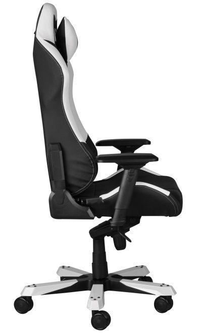 Геймърски стол DXRacer Iron - черен/бял (OH/IF11/NW) - 8