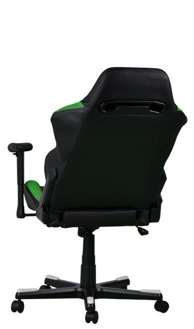 Геймърски стол DXRacer Drifting - черен/зелен/бял OH/DF61/NWE - 4