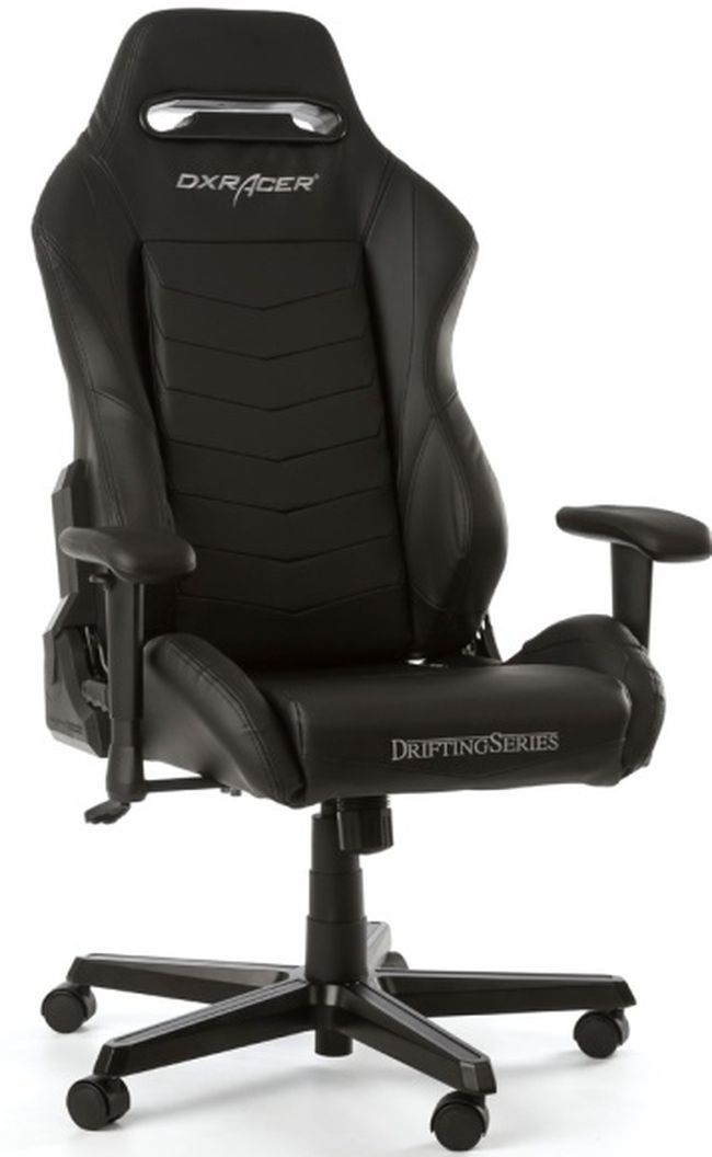Геймърски стол DXRacer - серия DRIFTING, черен - OH/DM166/N - 1