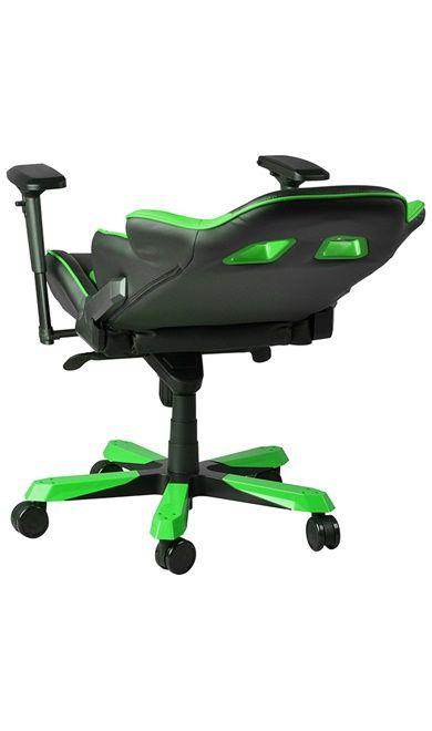 Геймърски стол DXRacer King - черен/зелен (OH/KF06/NE) - 11