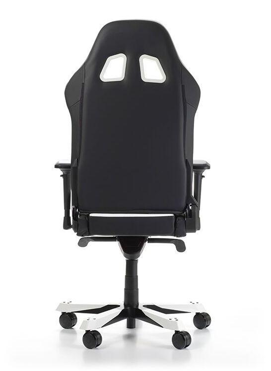 Геймърски стол DXRacer King, черен/бял - OH/KS06/NW - 9