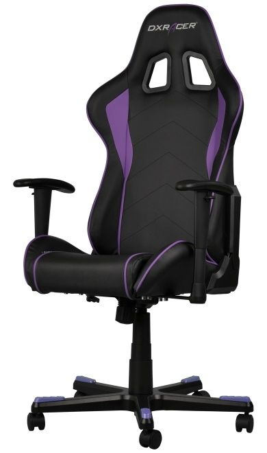 Геймърски стол DXRacer Formula - черен/лилав (OH/FE08/NV) - 5