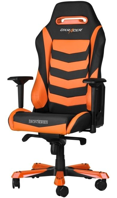 Геймърски стол DXRacer Iron - черен/оранжев (OH/IS166/NO) - 4