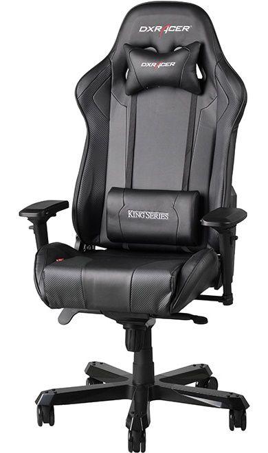 Геймърски стол DXRacer King- черен (OH/KF06/N) - 1