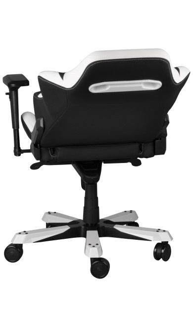 Геймърски стол DXRacer Iron - черен/бял (OH/IF11/NW) - 11