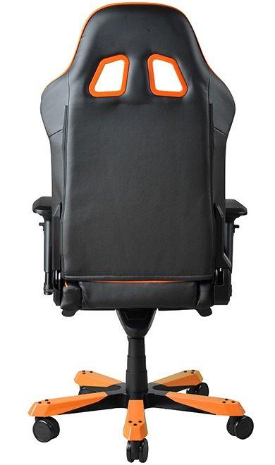 Геймърски стол DXRacer King - черен/оранжев (OH/KF06/NO) - 10