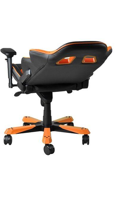 Геймърски стол DXRacer King - черен/оранжев (OH/KF06/NO) - 15