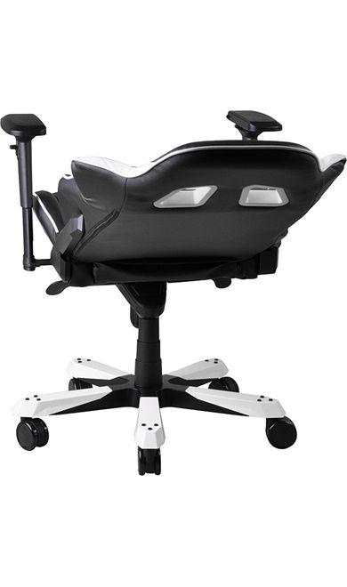 Геймърски стол DXRacer King - черен/бял (OH/KF06/NW) - 13