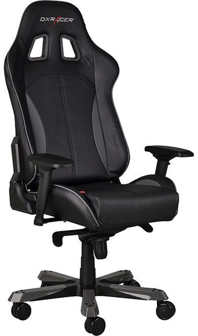 Геймърски стол DXRacer King - черен/сив (OH/KF57/NG) - 7