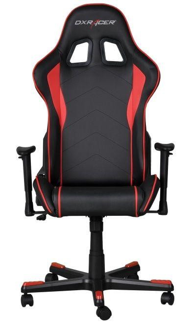 Геймърски стол DXRacer Formula - черен/ червен (OH/FE08/NR) - 3