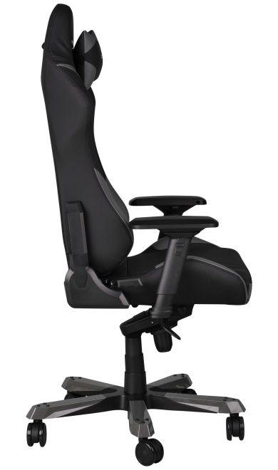 Геймърски стол DXRacer Iron - черен/сив (OH/IF166/NG) - 9