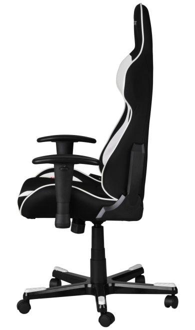 Геймърски стол DXRacer Formula - черен/бял (OH/FE11/NW) - 6