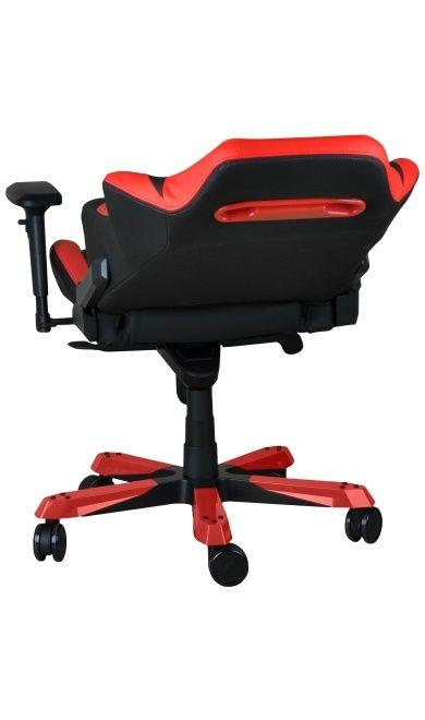 Геймърски стол DXRacer Iron - черен/червен (OH/IF11/NR) - 8