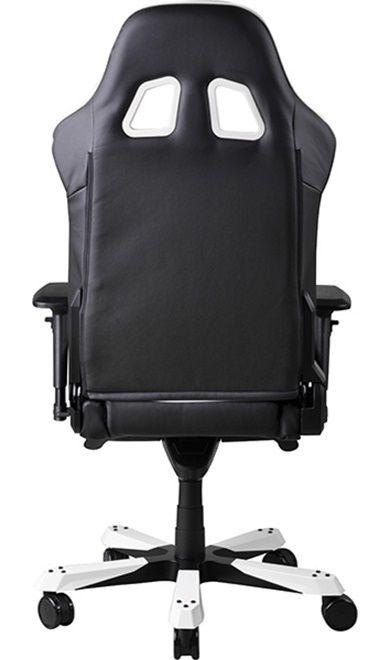 Геймърски стол DXRacer King - черен/бял (OH/KF06/NW) - 11