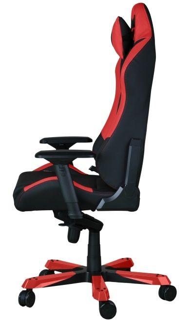 Геймърски стол DXRacer Iron - черен/червен (OH/IF11/NR) - 7