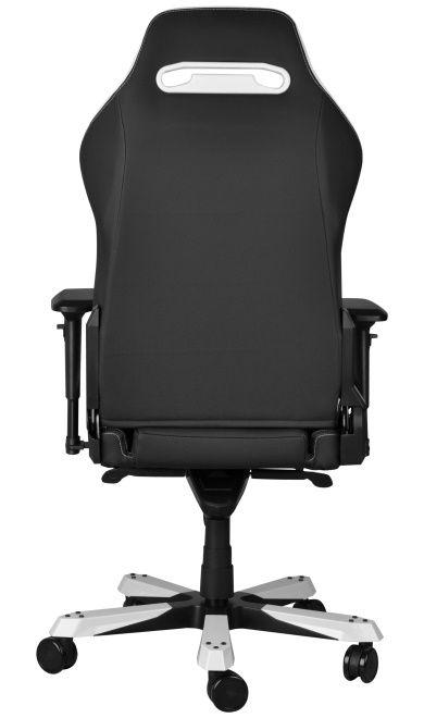 Геймърски стол DXRacer Iron - черен/бял (OH/IF11/NW) - 12