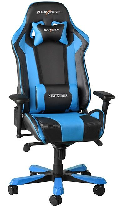 Геймърски стол DXRacer King - черен/син (OH/KF06/NB) - 9