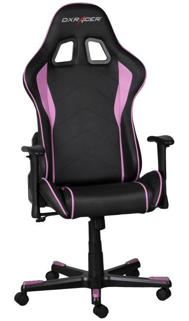 Геймърски стол DXRacer Formula - черен/розов (OH/FE08/NP) - 5