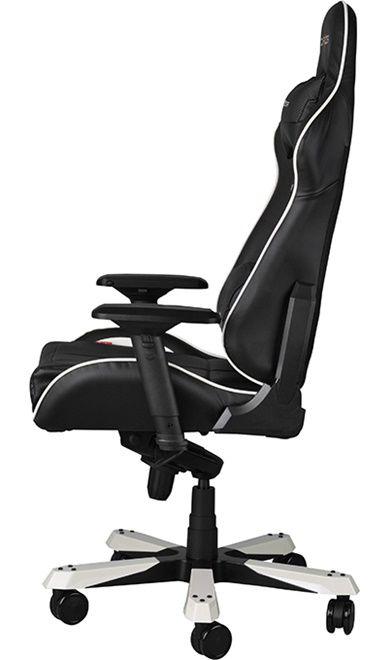 Геймърски стол DXRacer King - черен/бял (OH/KF57/NW) - 9