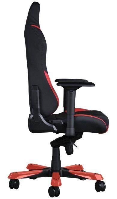Геймърски стол DXRacer Iron - черен/червен (OH/IS166/NR) - 2