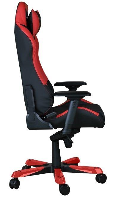 Геймърски стол DXRacer Iron - черен/червен (OH/IF11/NR) - 6