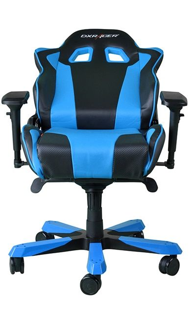 Геймърски стол DXRacer King - черен/син (OH/KF06/NB) - 12