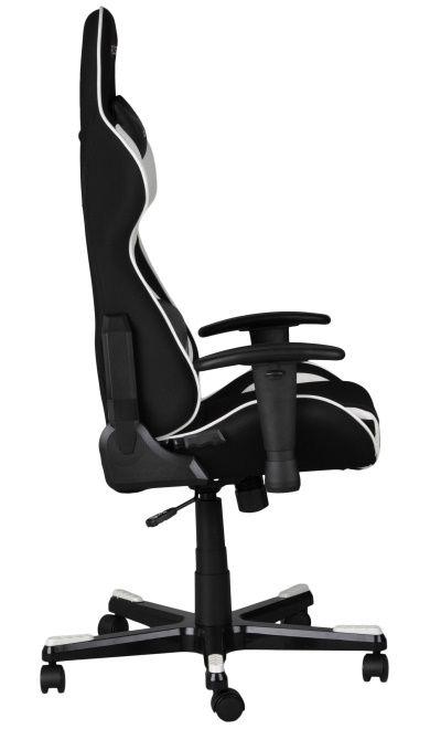 Геймърски стол DXRacer Formula - черен/бял (OH/FE11/NW) - 2