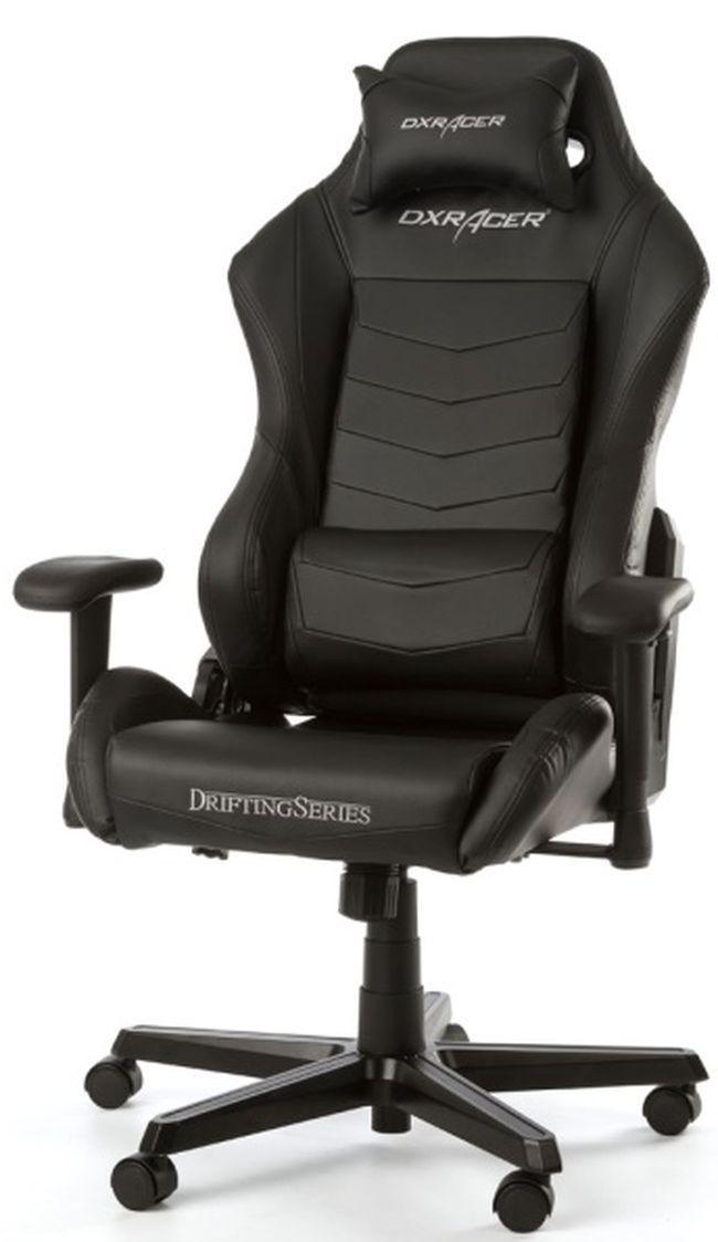 Геймърски стол DXRacer - серия DRIFTING, черен - OH/DM166/N - 2