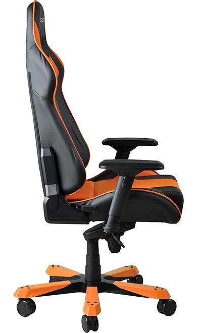 Геймърски стол DXRacer King - черен/оранжев (OH/KF06/NO) - 8