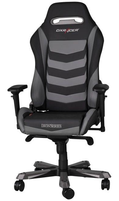 Геймърски стол DXRacer Iron - черен/сив (OH/IF166/NG) - 7