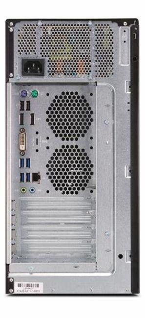 Настолен компютър Fujitsu Celsius - W580, черен - 2
