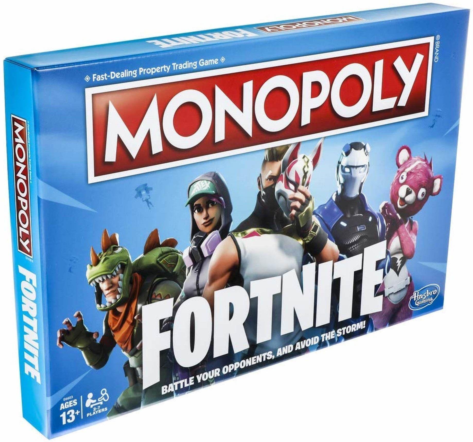 Настолна игра Hasbro Monopoly - Fortnite - 1