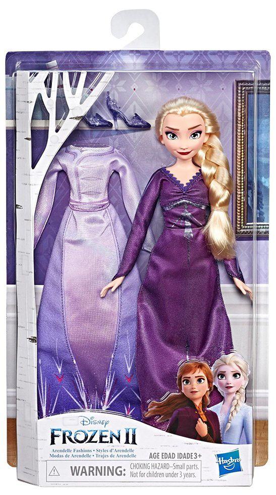 Кукла Hasbro Frozen 2 - Елза от Арендел, с 2 рокли - 1