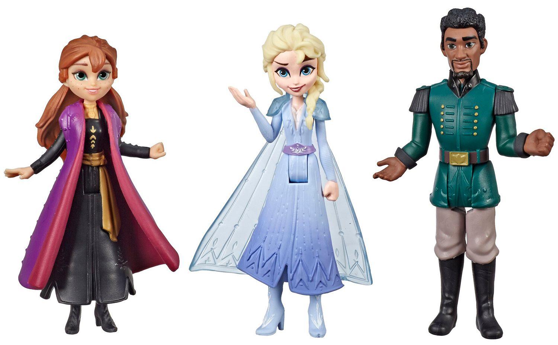 Комплект фигурки Hasbro Frozen 2 - Моменти от историята, Анна, Елза и Лейтанат Матиас - 2