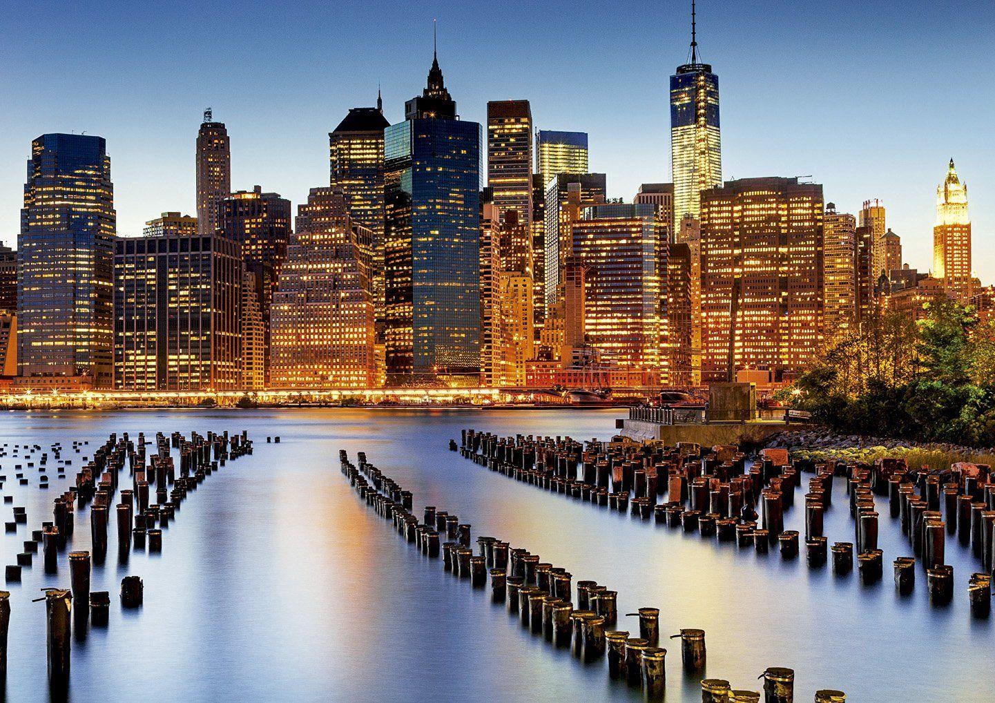 Пъзел Educa от 1000 части - Градът на небостъргачите - 2