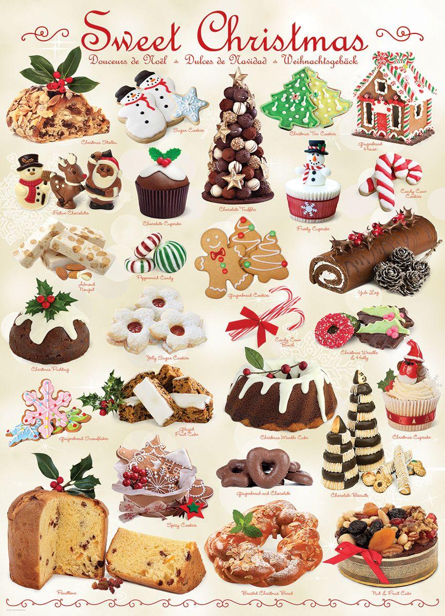Пъзел Eurographics от 1000 части –  Лакомства за Коледа - 2
