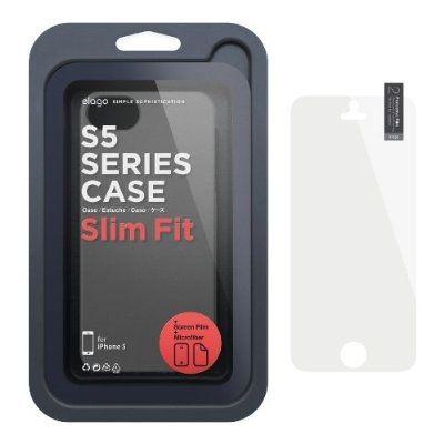 Elago S5 Slim Fit 2 Case за iPhone 5 -  тъмносив - 2