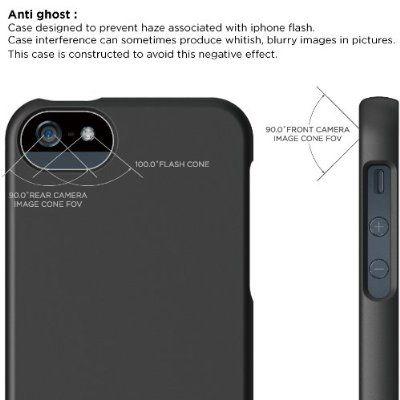 Elago S5 Glide Case за iPhone 5 - черен-мат - 7